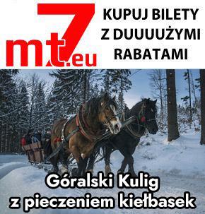 mt7.eu - kupuj bilety online od 11 zł na termy, rabaty na wyciagi, bez kolejek na Spływ Dunajcem - Flisacy